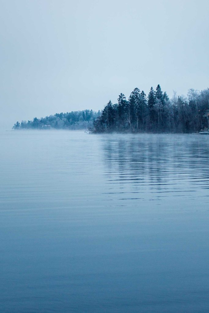 Winter by the Lake by Ulrika Ekblom Photography